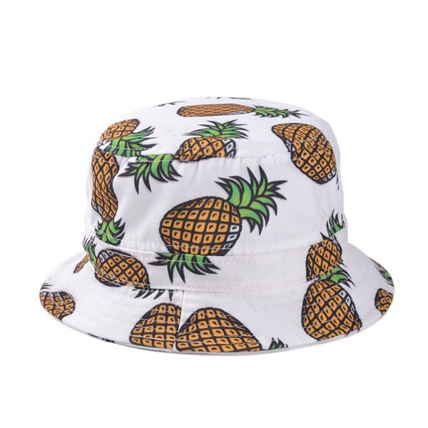 fdb16837bd0d8a Summer Print Bucked Hat - Pineapple Bucket Hat designed by Heavenly ...