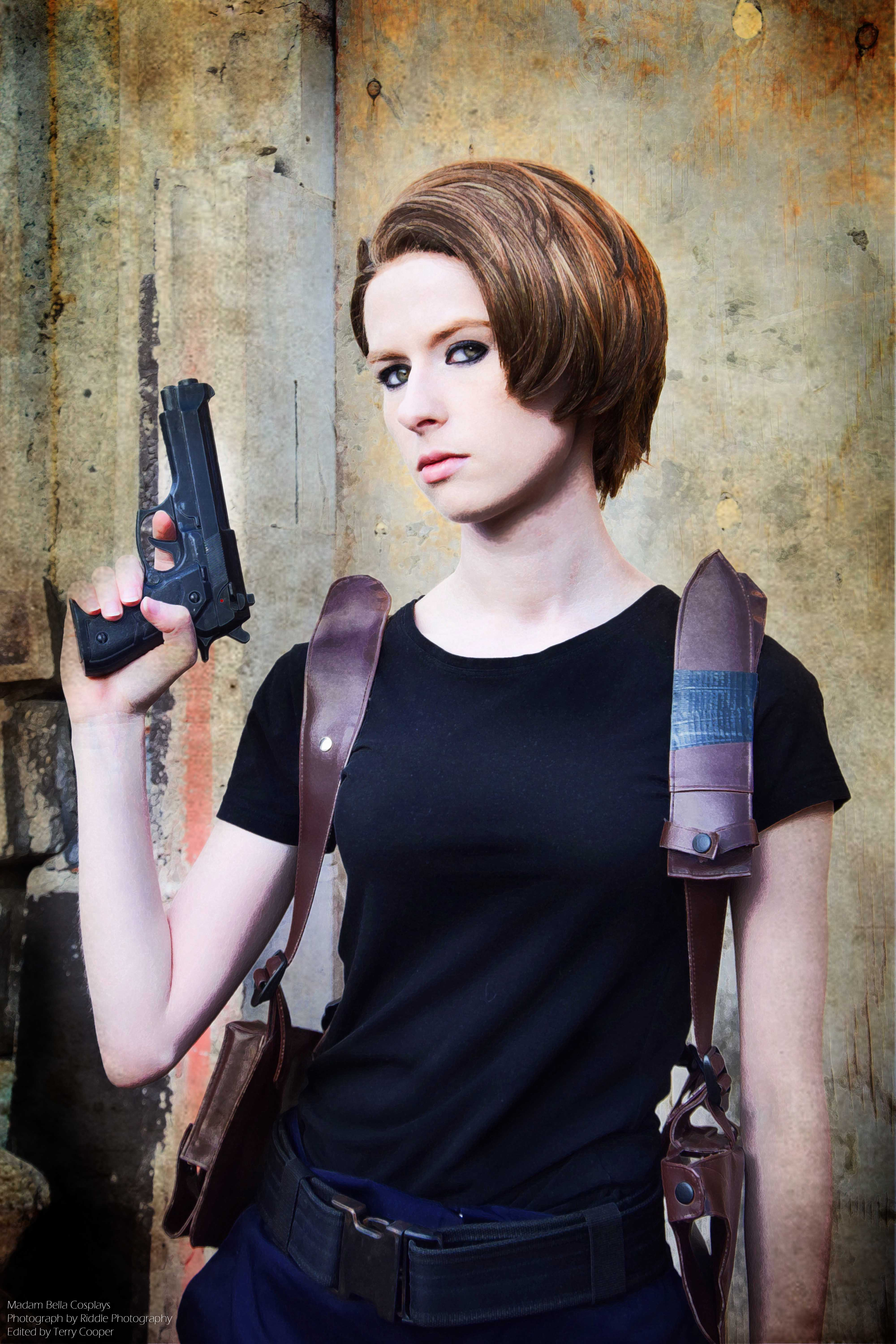 Resident Evil 4 Leon S Kennedy Custom Cosplay Gun Holster Unisex From Madam Bella Cosplays