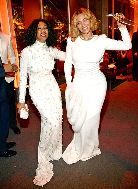 c0235dac5a7 Inspired by Beyonce Plus Size White Mermaid Celebrity Dresses Crew Neck  Long Sleeve Prom Dresses Evening