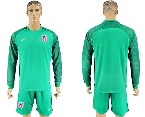 Goalkeeper Country Usa Green Blank Storenvy Jersey Soccer By Long Sleeves On Cheapsoccerjersey1 Sold