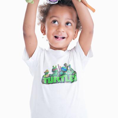 982e9146b Boy's ninja turtle graphic tee shirt infant toddler children's - Thumbnail 1