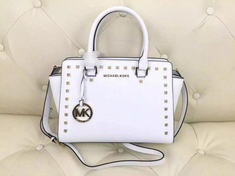 290d468b2403 Classic MK Rivet Handbag White · Toms · Online Store Powered by Storenvy