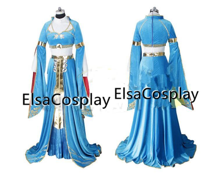 Custom The Legend Of Zelda Breath Wild Costume Princess