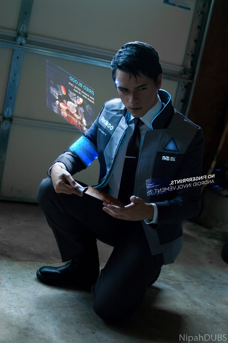 Connor Iii Detroit Become Human Print Nipahdubs Online Store Powered By Storenvy