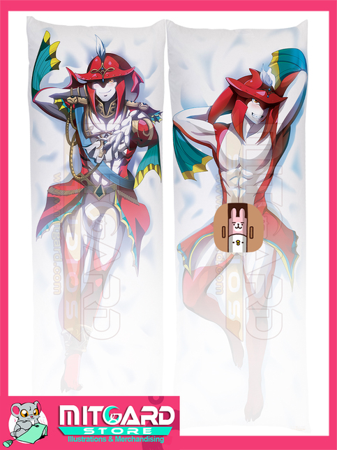 The Legend Od Zelda Prince Sidon Dakimakura Hugging