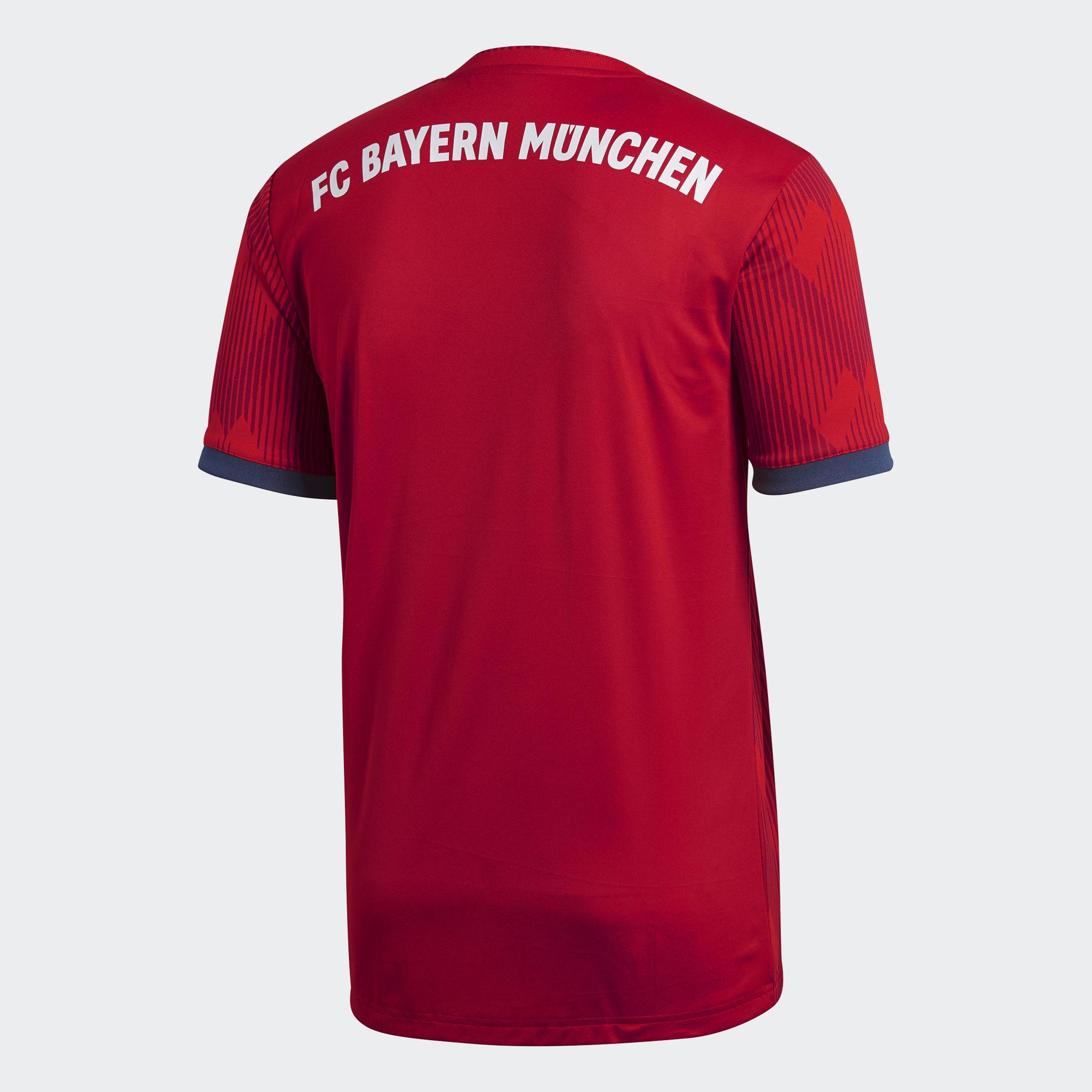 half off 86822 31d85 FC Bayern Munich 2018/2019 Home Kit Men's Soccer Jersey Football New Season  from Soccer Jersey, T-Shirt & DVD