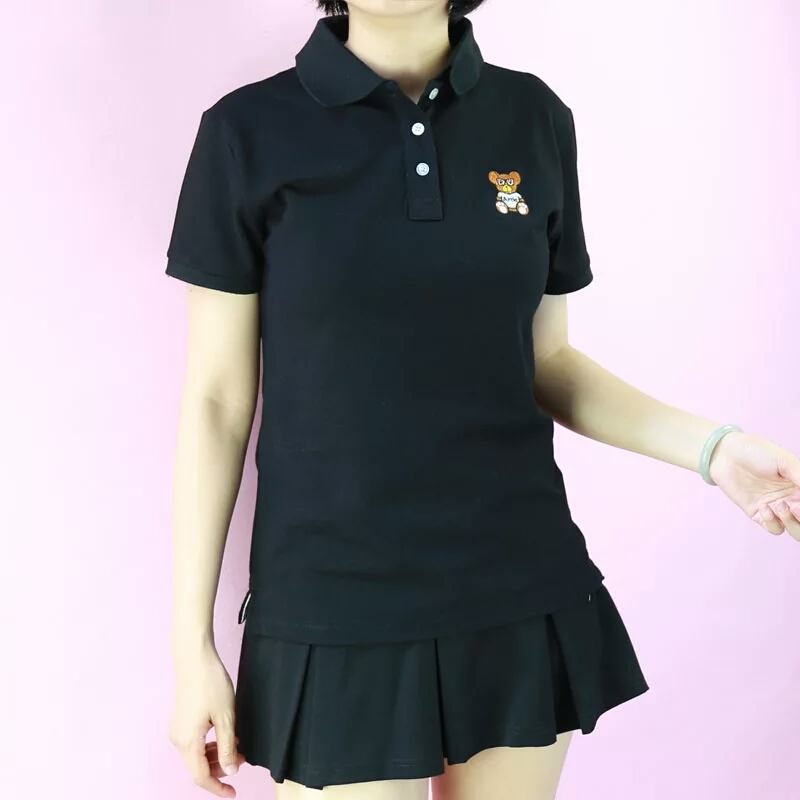 87ac1c02 Artie dark bear logo Polo Shirt · Artie Fashion · Online Store ...