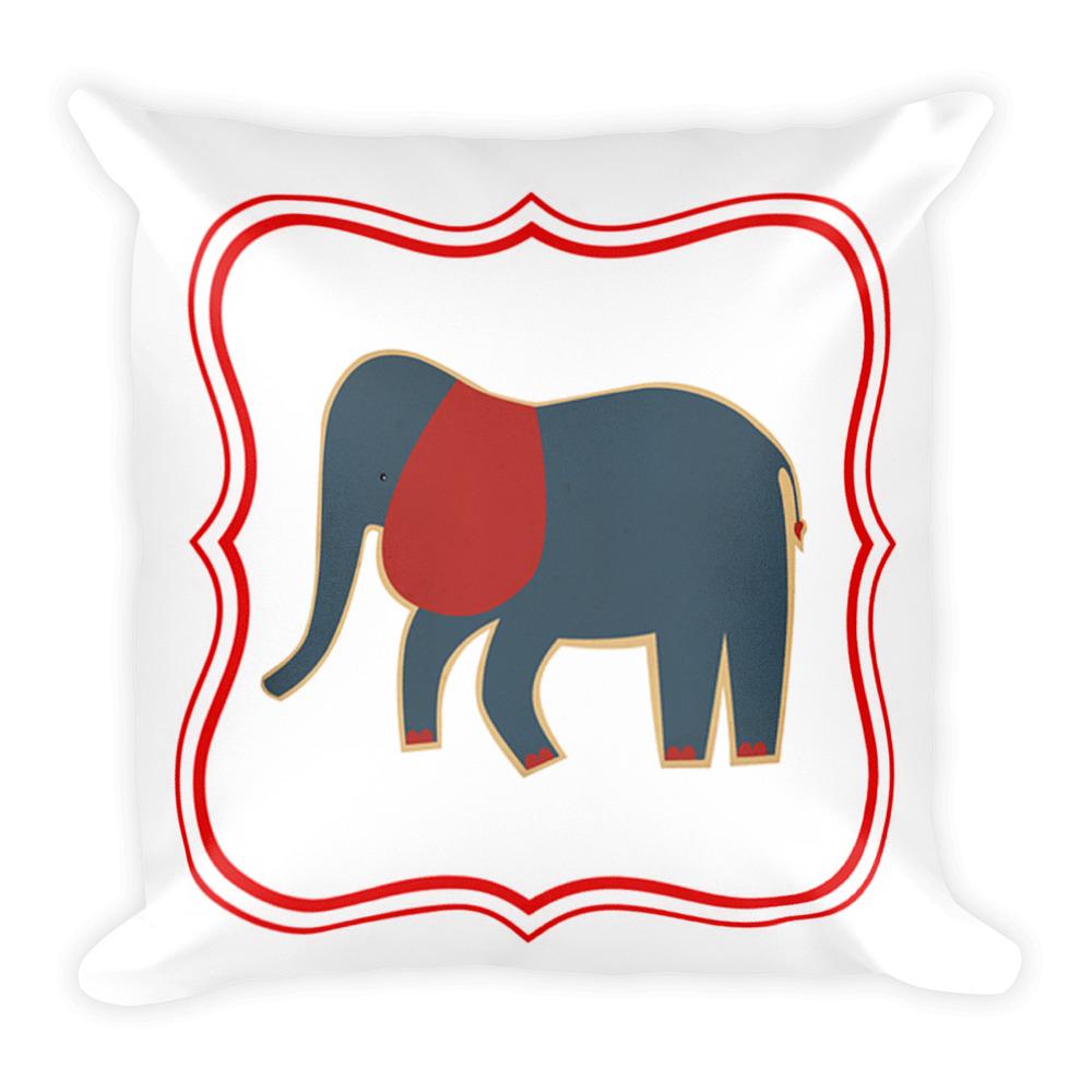 Cute Elephant Throw Pillow Elephants Lover Gifts Teenage Girls
