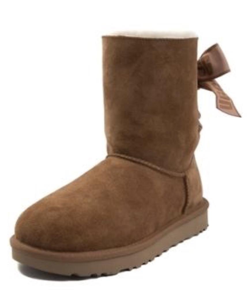 11e9549055e Womens UGG® Customizable Bailey Bow II Boot Chestnut