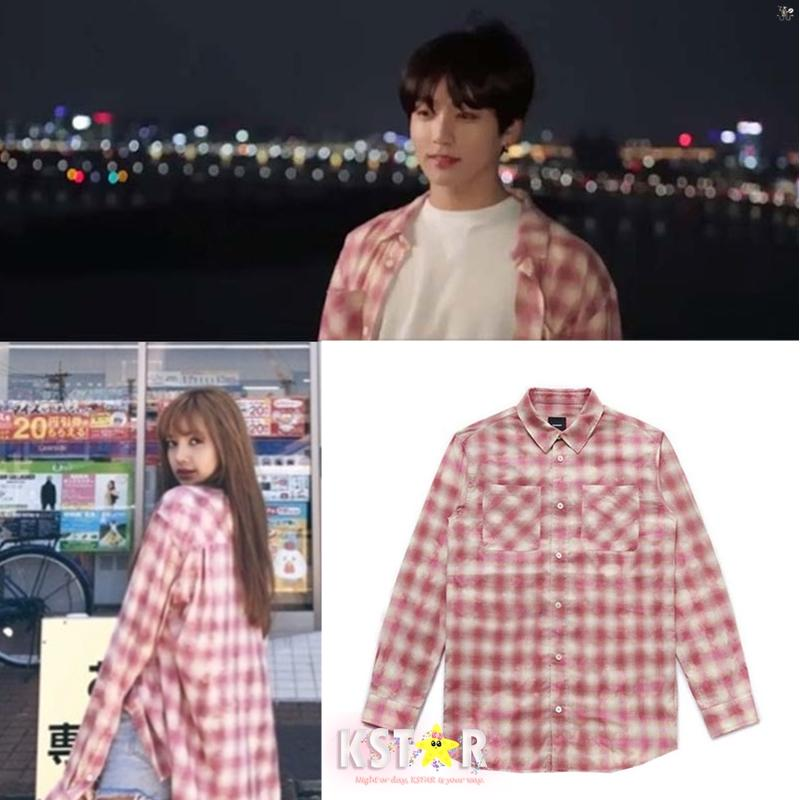 8b77227a7 Lisa and Jungkook Style Plaid Shirt on Storenvy