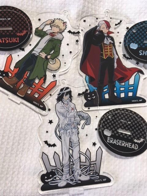 My Hero Academia Halloween Acrylic Stands Rare