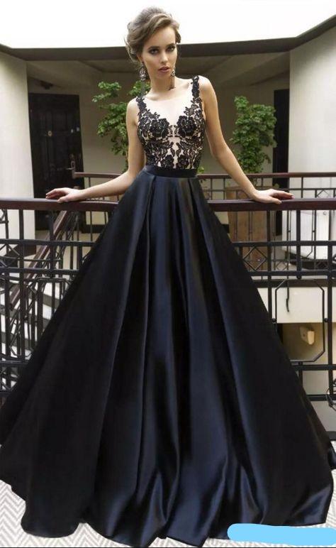 Elegant Black Evening Dresses