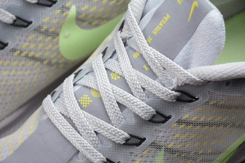 2e52b49e14f ... Nike Zoom Pegasus 35 Turbo Gray Green Running Shoes AJ4115-301 -  Thumbnail 3