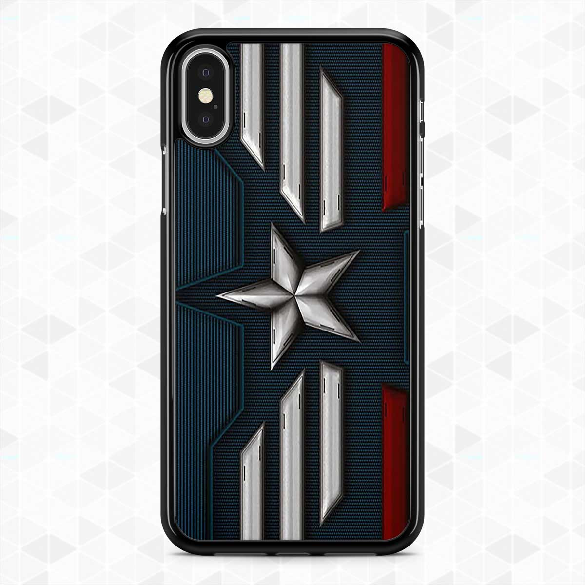 detailed look fe320 d8d19 iPhone XS Max 7+ 8 Plus XR Captain!America!cases Samsung S9+ S8+ Note 9 8  Cover