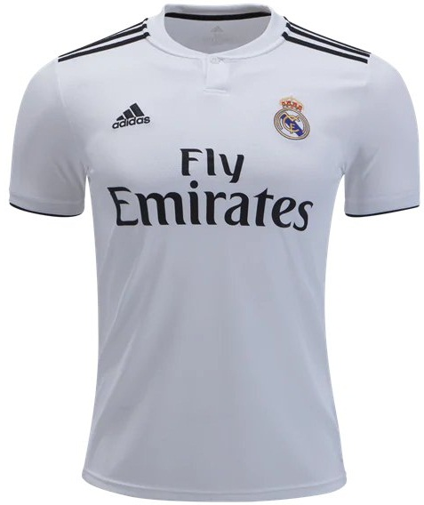 658df8530 Bale  11 Real Madrid 2018 19 Jersey Men Soccer Home Football Shirt White -