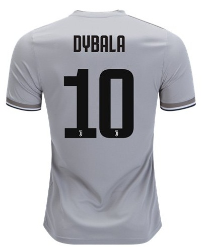 Dybala  10 Juventus Away Soccer Men Jersey 2018 19 Stadium Shirt on ... 6ab9041de