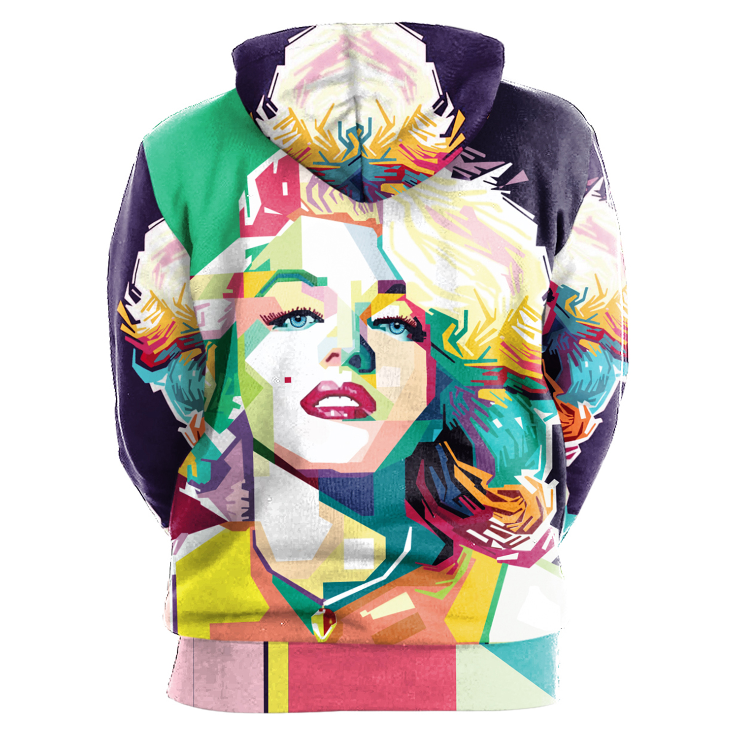 904ade23051fc Marilyn Monroe Hoodie 3D Graphics Printed Pullover - Thumbnail 1 ...