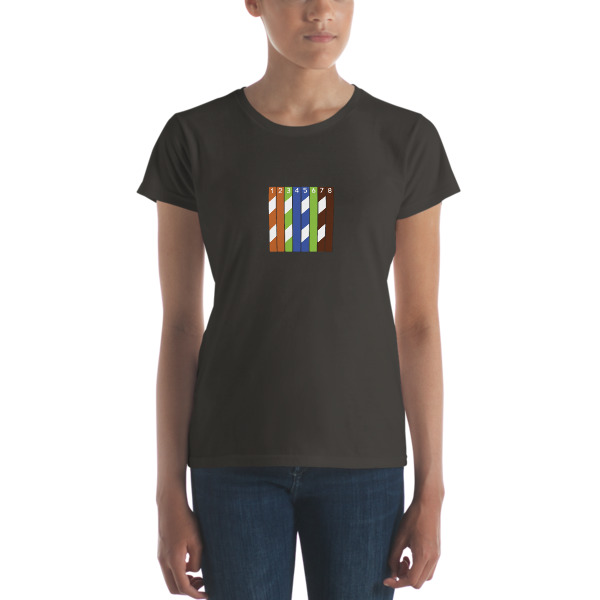 Ethernet Wiring Diagram T-Shirt (Women's) from Code & Supply Store on color diagram online, make an invoice online, internet diagram online, make a web diagram, make cartoon online, make graph online,