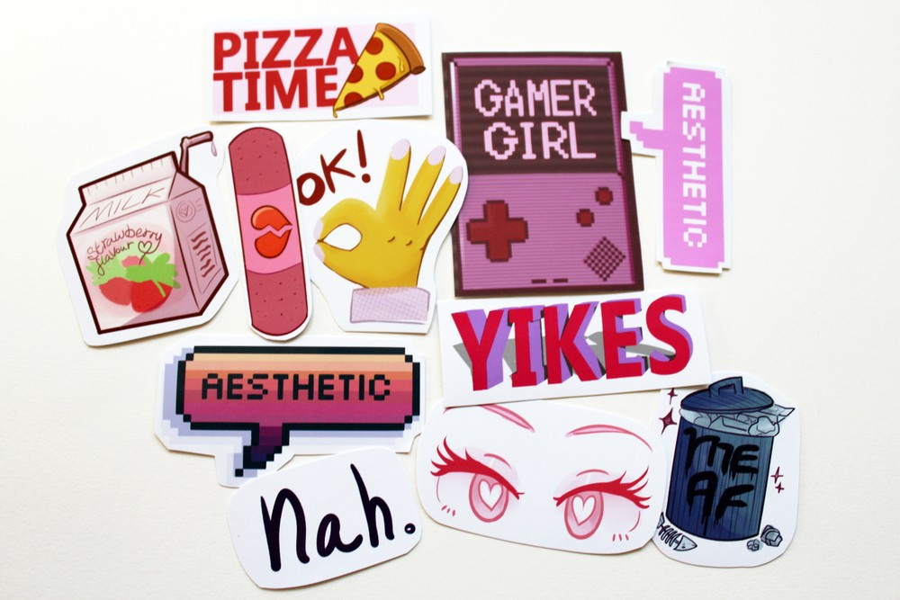 Aesthetic Stickers Pack