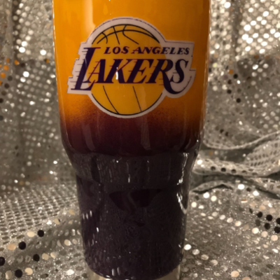 Los Angeles Lakers Stainless Steel Tumbler Krave Designs Custom Gifts Online Store Powered By Storenvy