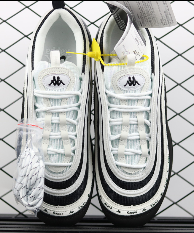 3ac1f761 Kappa x Nike Air Max 97 OG Black White For Sale Running Trainers Sneakers  Shoes Authentic sold by 1to2store