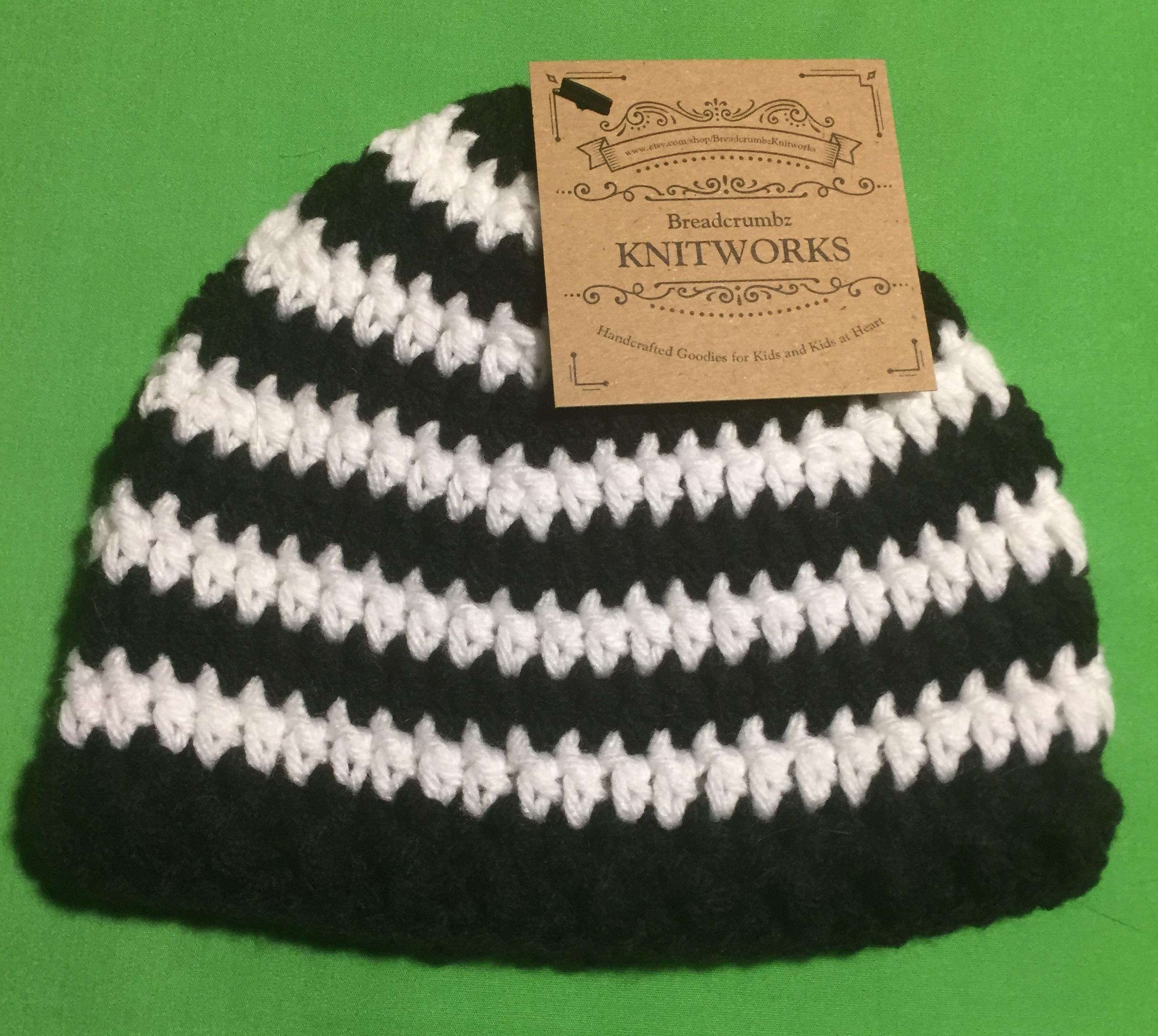 b22896865b4 Crocheted Baby Beanie - Striped on Storenvy