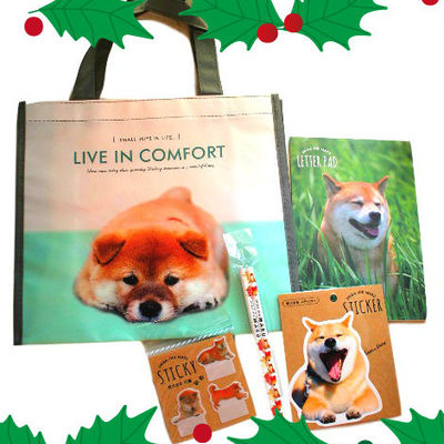 Image of: Panda Rabbit Christmas Shiba Inu Goods Suprise Set Full Of Kawaii Shiba Dog Stationery Goods Kawaii Surprises Japan Storenvy Kawaii Animals Kawaii Surprises Japan Online Store Powered By