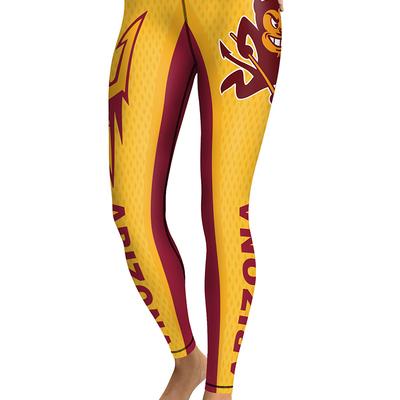 a126f383ea693 Arizona state sun devils yoga pants women workout football leggings -  Thumbnail 5