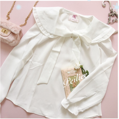 c1bc4f31d8ba29  made by peiliee  sweet babydoll s hand book oversize shirt