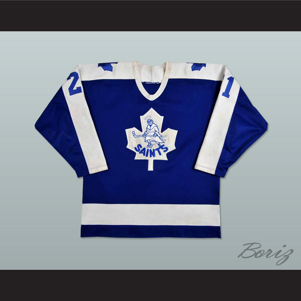 Basil McRae St. Catherine Saints Hockey Jersey Any Size Any Player ... ef1be0f589b