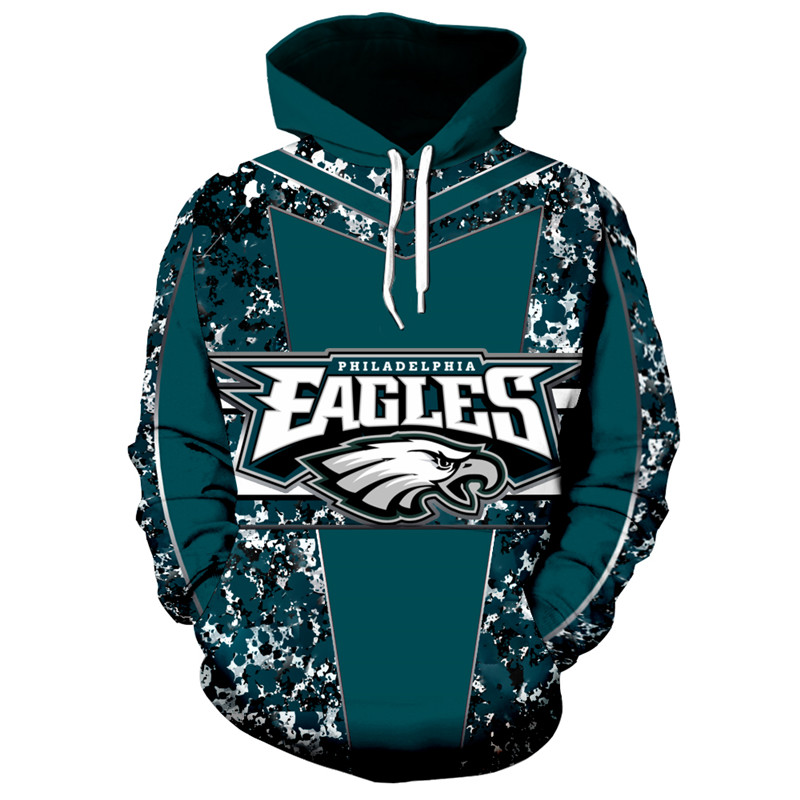 f547260a Philadelphia Eagles NFL Football Team Hoodie Super Bowl Special Edition