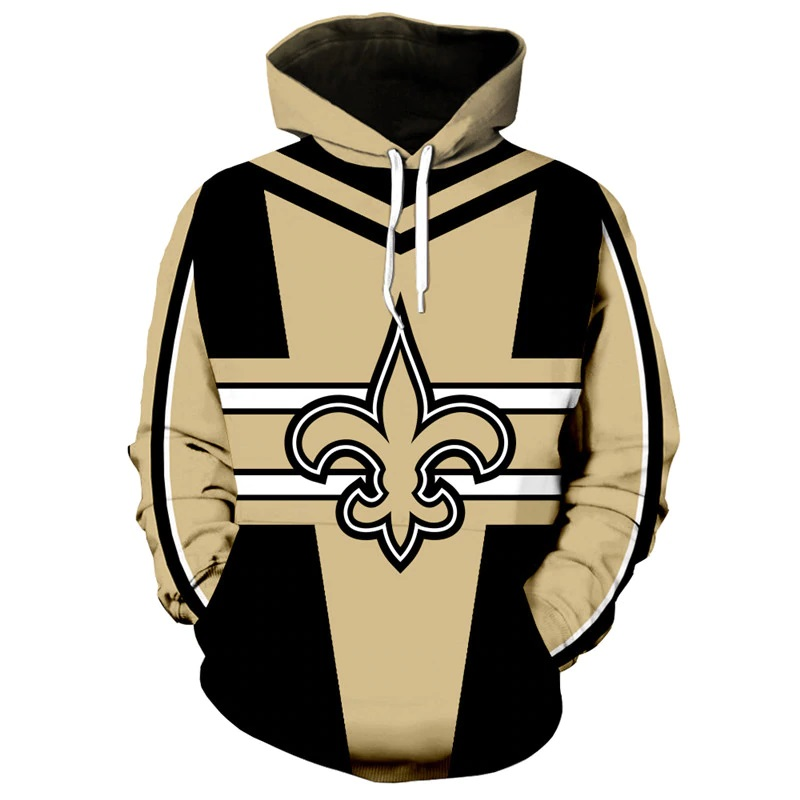 low priced e052f 7f25c New Orleans Saints NFL Football Team Hoodie Special Edition