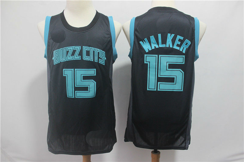 new arrival 6b2fe fc2c3 Men's Charlotte Hornets #15 Kemba Walker Jersey City Edition sold by  officialjersey