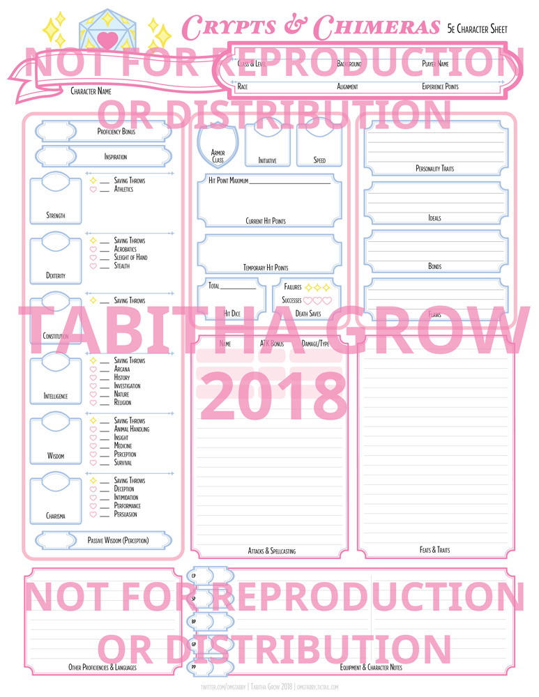 It is an image of Dnd 5e Printable Character Sheet regarding pdf