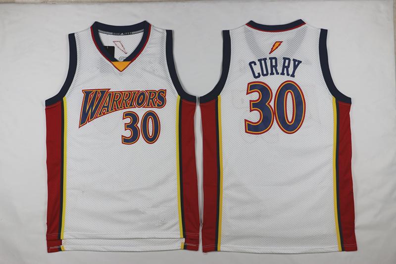 Men s Golden State Warriors Stephen Curry Mitchell   Ness Navy 2009-10  Hardwood Classics Swingman 27a9681c1