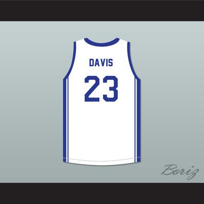 dd170b601 Anthony davis 23 perspectives charter school white basketball jersey 2