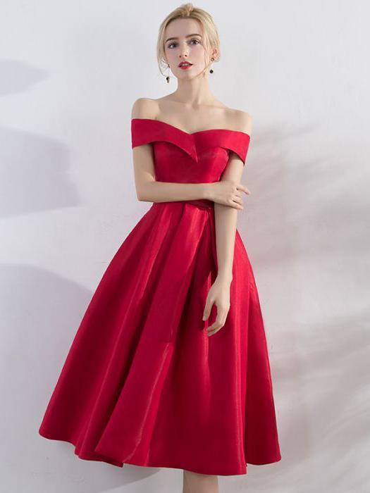 6bf68e11d0 Prom Dresses, Prom Dresses A-Line, Short Evening Dress, Red Prom ...