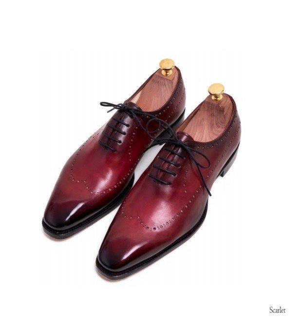 color dress shoes