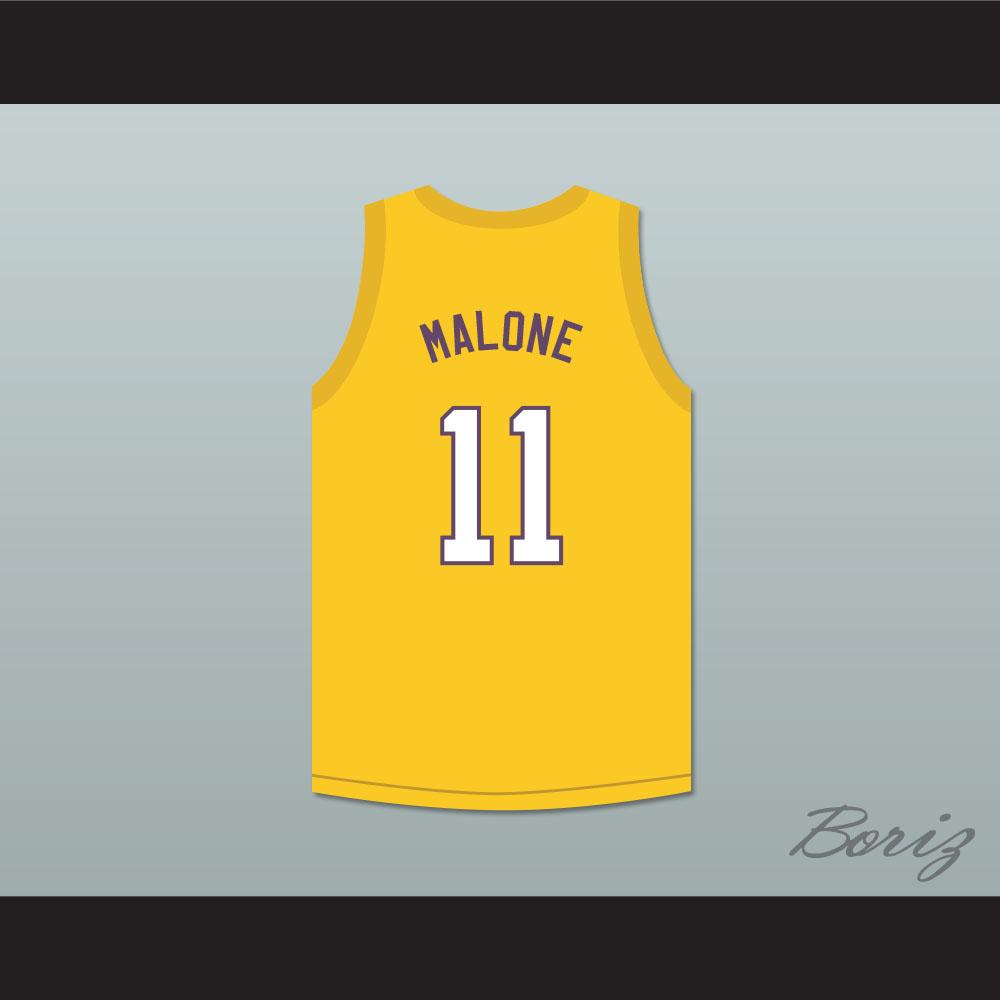Karl Malone 11 Super Lakers Basketball Jersey Shaq and the Super Lakers  Skit MADtv - Thumbnail ... e3193a15b