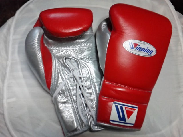 new customized winning boxing gloves 12/oz sold by goldenwaveint