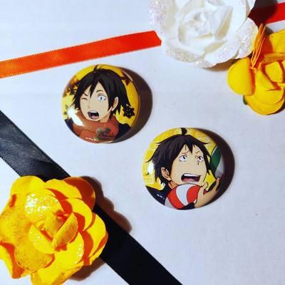 Yamaguchi small badges from Shibu shop