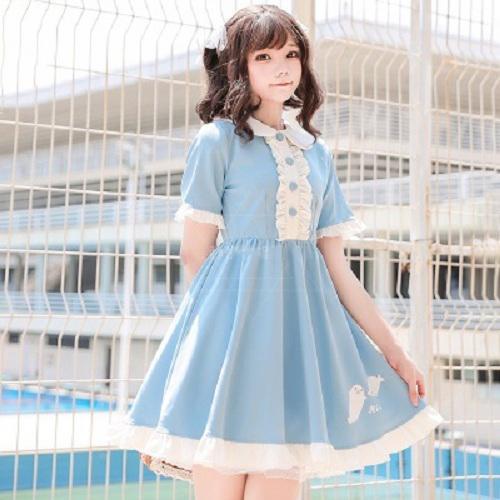 Kawaii Pastel Blue Dress On Storenvy