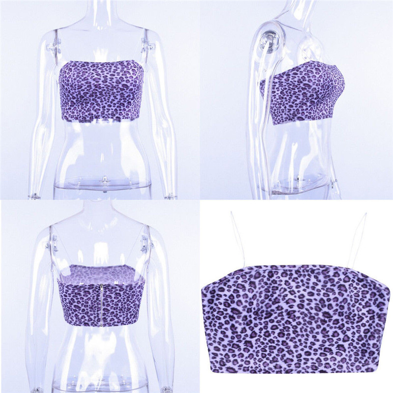 3be54a98290 Purple Leopard Print Crop Top · BougieBuys · Online Store Powered by ...