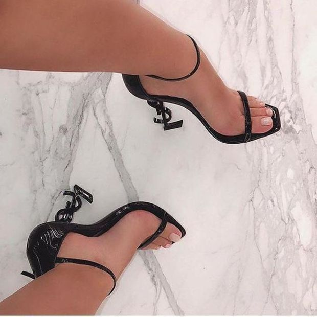 f4876322d64 YSL Trending High Heels Shoes Sandals · readystock · Online Store ...