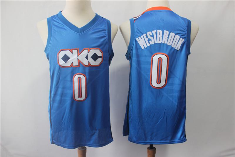 Men s Oklahoma City Thunder Russell Westbrook Blue 201819 Swingman Jersey –  Earned Edition Basketball Jersey ae69e15b1