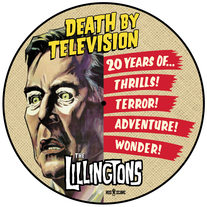 "The Lillingtons ""Death By Television (20th Anniversary Edition) LP CCCP 217-1 medium photo"