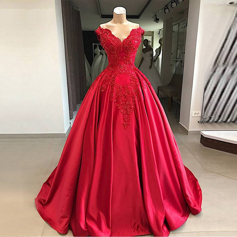 Wedding Dress Bridal Bridesmaid Gown/Prom Ball Evening