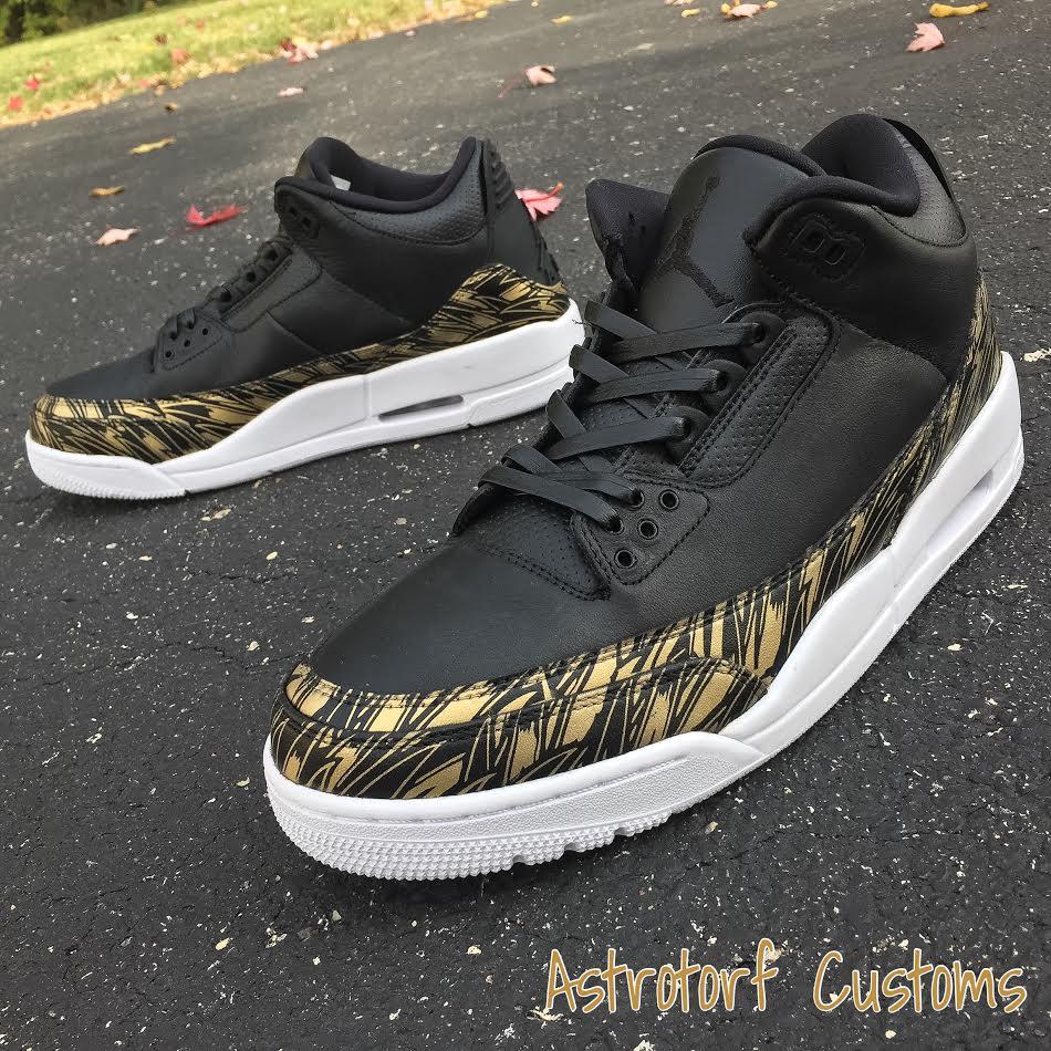4b2bcdcf2e5309 Fashion Men Basketball Air Retro 3 Gold Medal Shoes On Sale on Storenvy