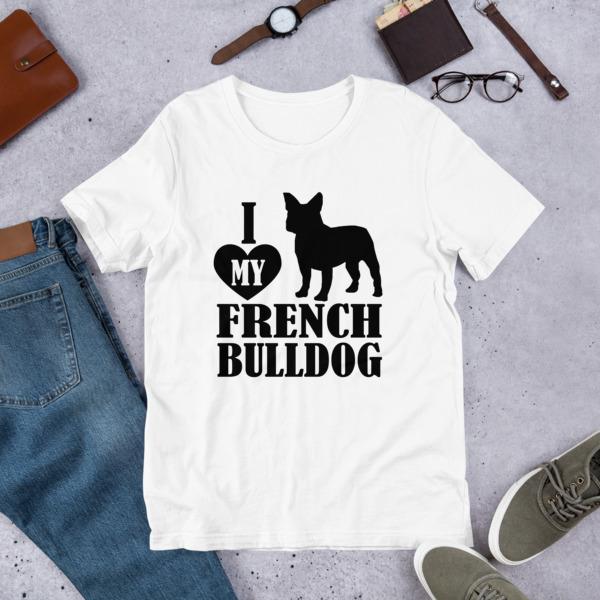 Funny Dog Merchandise Lover Owner Gift Ideas Shirt For Humans - French  Bulldog Unisex T-Shirt