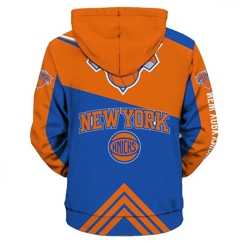781da012e ... New York Knicks Full-Zipper Hoodie NBA Basketball Sweatshirts New Season  - Thumbnail 3 ...